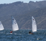 Silvie and Fergus coming downwind
