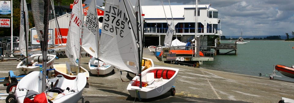 Boats ashore at the Nelson Marlborough Regionals Champs