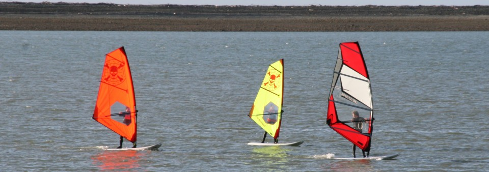 Windsurfing lessons with Nelson Watersports