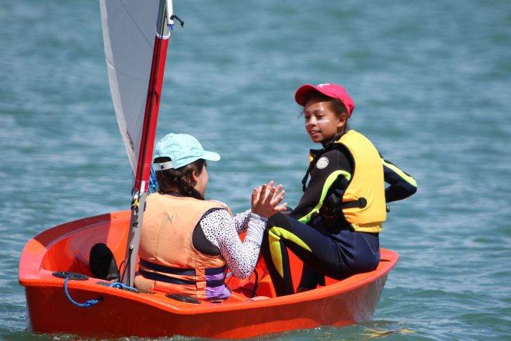 Learn to Sail courses for young children