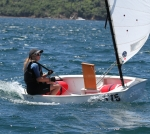 Charlotte was sailing in her first ever regatta - Well done!!